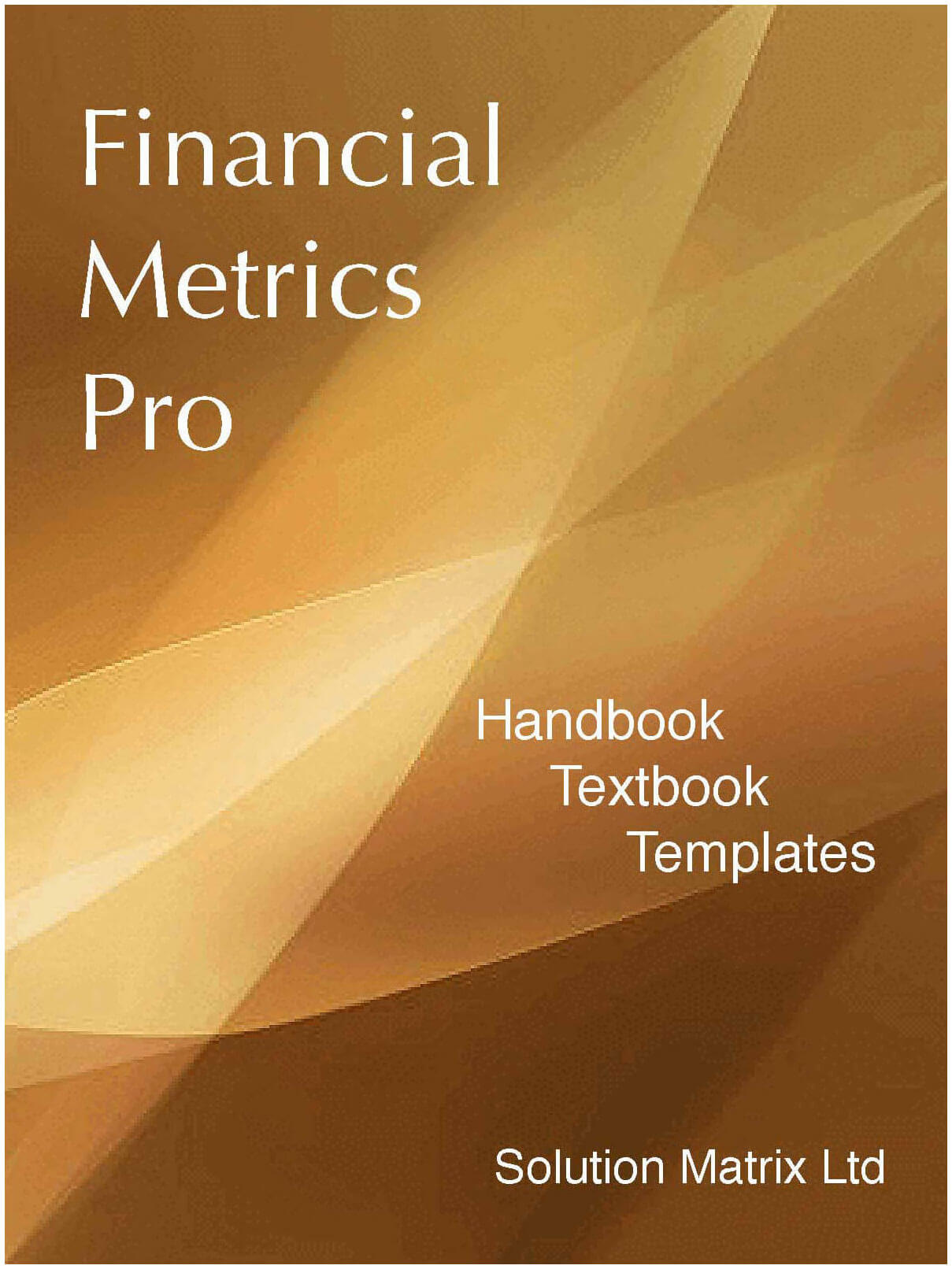 Buy the ebook Financial Metrics Pro