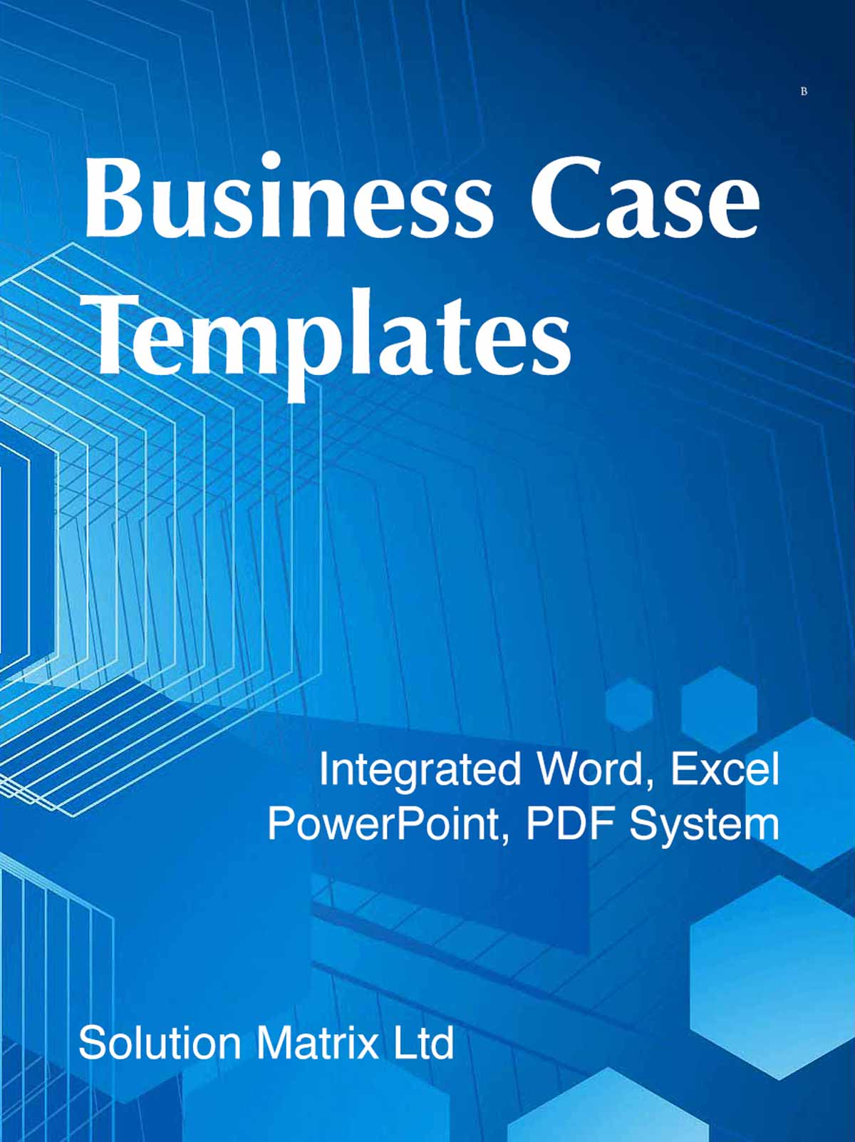 business case analysis templates integrated word excel pp