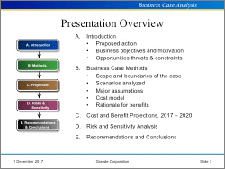business case analysis templates integrated word excel pp system, Presentation templates