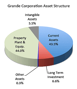 Grand Corporation Asset Strucdture