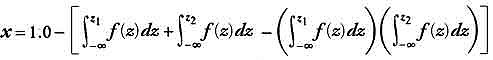 Gaussian probability